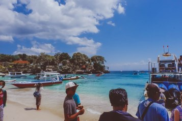 Nusa Lembongan: Drop off at Mushroom Bay from Sanur