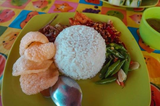 Nasi Campur: Rp. 35,000