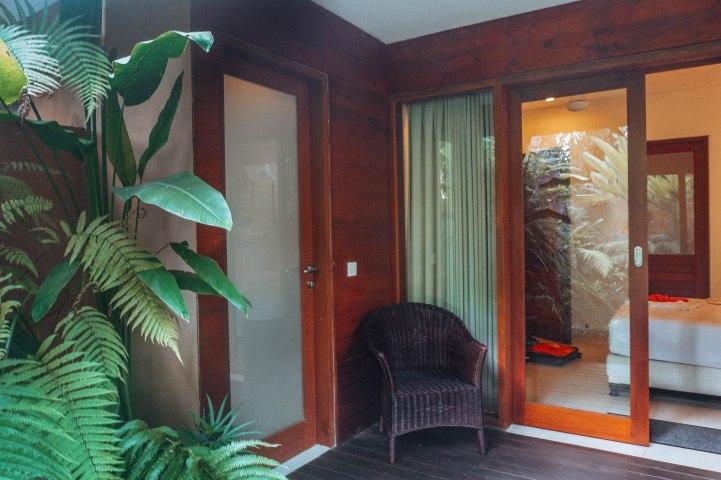 Living room door