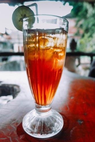 Iced Black Tea: Rp. 15,000
