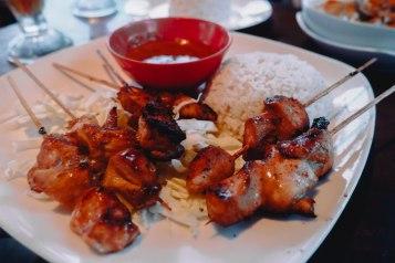 Chicken Satay: Rp. 55,000