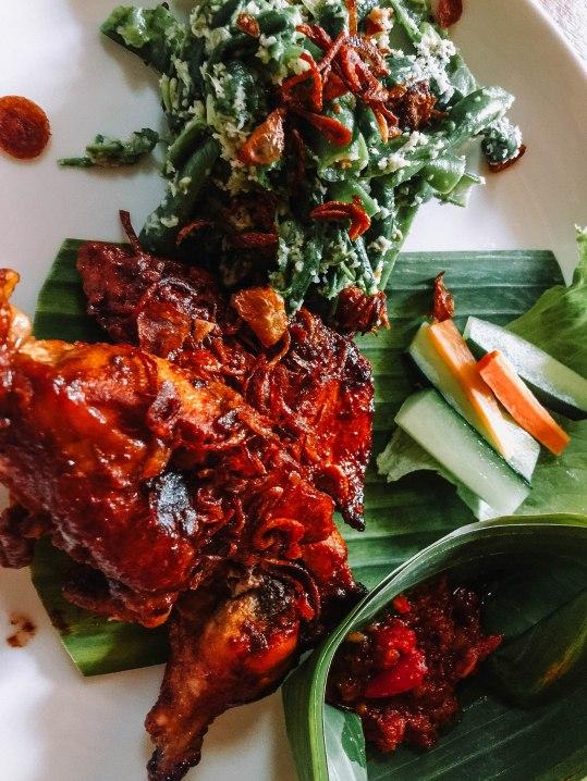 Ayam Panggang: Rp. 56,000