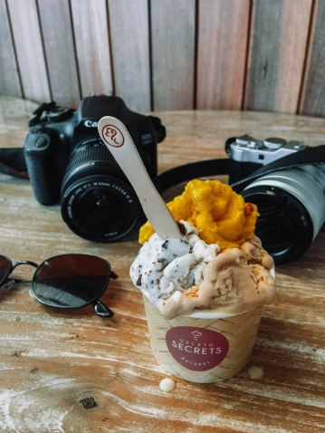 Gelato Secret in Tanah Lot: Rp. 45,000