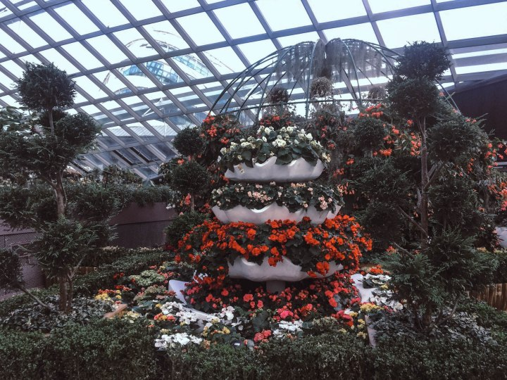 Flower DOme Entrance